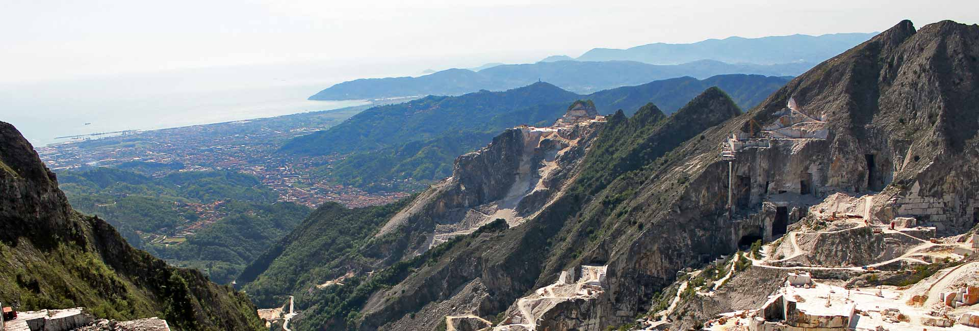 Visit to the Carrara Marble Quarries
