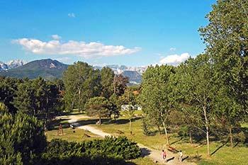Il parco Ugo Pisa in località Partaccia a Marina di Massa - Foto by Futuro Internet srl